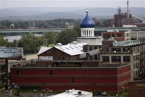Colt Factory Dome (AP Photo/Bob Child 2008)