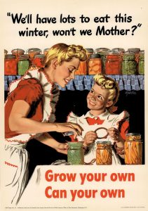 """""""We'll Have Lots to Eat This Winter,  Won't We Mother?"""" - Office of War Information"""