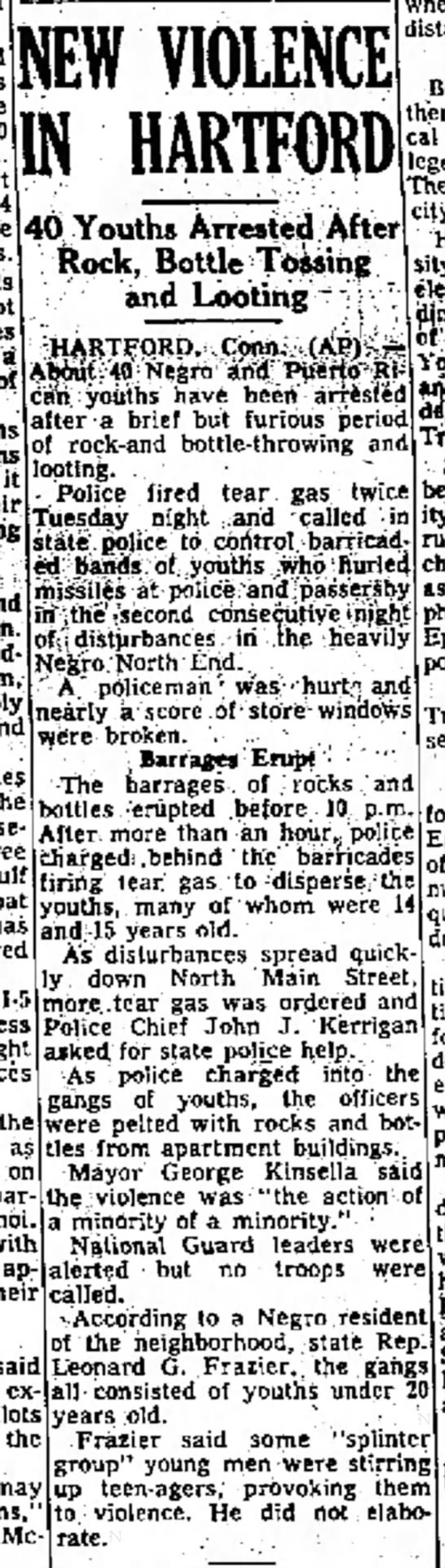 Clipped from The Bridgeport Post, 20 Sep 1967, Wed, Page 1