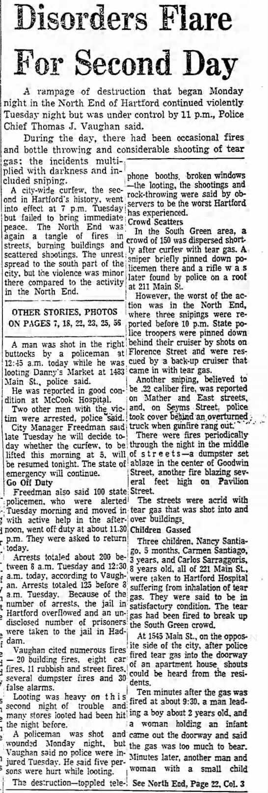 Clipped from Hartford Courant, 03 Sept 1969, Wed,  Page Page 1